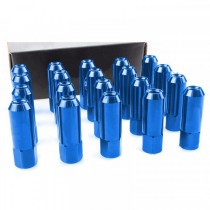 BLUE Light Weight Billet Aluminium Wheel Lug Nuts for Maza MX-5