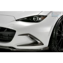 Front Bumper Duct Covers Carbon Fibre for Mazda MX-5 ND incl RF