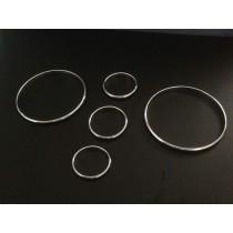 Chrome Aluminium Dial Rings Surrounds for Mazda MX-5 NA
