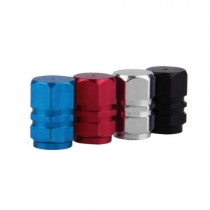 Aluminium Valve Caps - 4 pack (colours available)